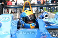 Sam Hignett before the Start of the 2004 Spa 1000kms