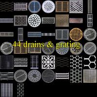 Street Elements drains & grates