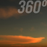 360° Fairytale Sunset