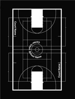 Gym Court Markings