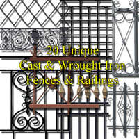 Cast & Wrought Iron collection #1