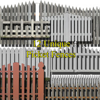 Picket fence colllection #1