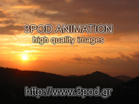3pod Animation - HQ Images - Sunset Collection