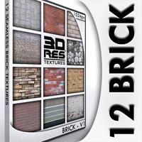 12 Brick Textures