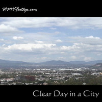 Clear Day in a City