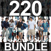 220 People Textures - Super Bundle