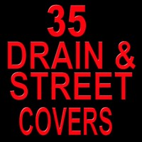 35 drain and street covers