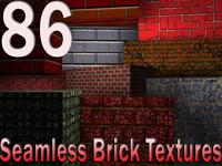 86 Seamless Brick Textures