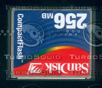 256MB Compact Fash Card