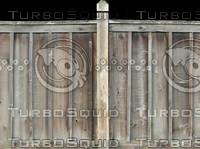 Wood fence #2