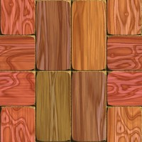 Seamless Wood Floor Tiles