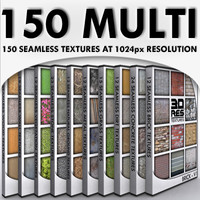 150+ Multi Texture Pack