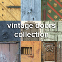 vintage doors collection