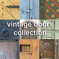 vintage doors collection