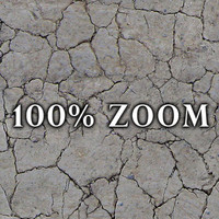 Medium resolution Cracked dry earth ground + Bump Map