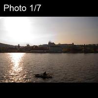 7x Prague sunset amazing city view