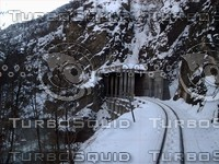 Mine Tunnel Rail