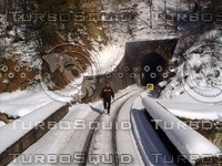 High Mountain Railway ( turn and tunnel )