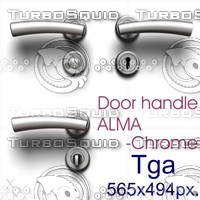 Door handle ALMA-Chrome.zip