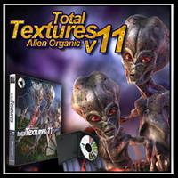 Total Textures V11:R2 - Alien Organic