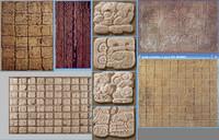 Mesoamerican Texture Pack 3 (Hyroglyphs)