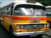 Maltese vintage bus - Perkins