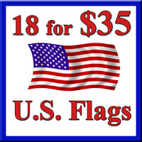 18 Flags for $35