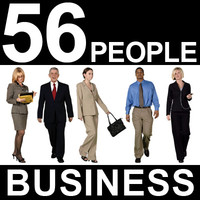 56 Business People Textures