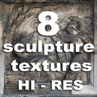 8 sculpture textures
