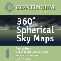 Cool Basic - 360 Degree Spherical Map