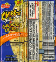 Cheetos Crackers Label