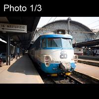 3x Czech train: Talgo exterieur