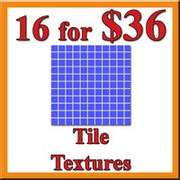 16 Tile Textures for $36