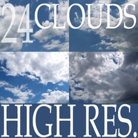 Collection of 24 high resolution clouds Vol.2