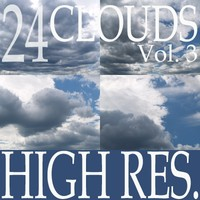Collection of 24 high resolution clouds Vol.3