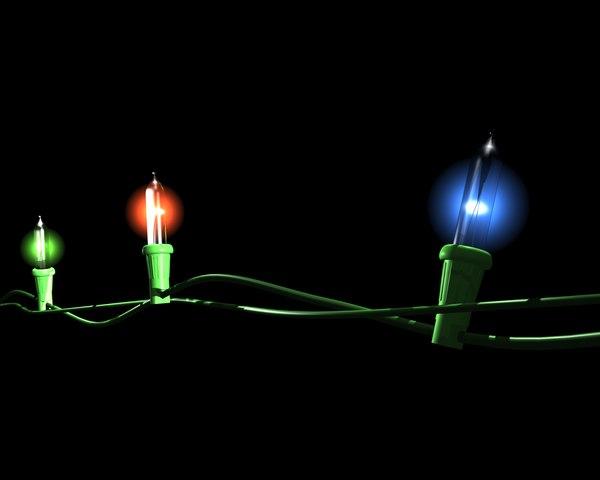 String Lights Psd : Stock psd Christmas Lights Holiday