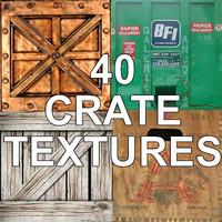 40 CRATE TEXTURES