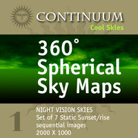 Cool-NightVision - 360 Degree Spherical Map