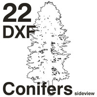 DXF Conifers Set