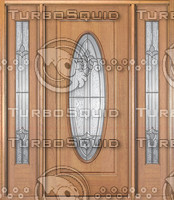 MAINC58-Mahogany-door-big-oval-leaded-glass-with-side-lites.jpg