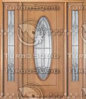 MAINC58-Mahogany-door-big-oval-leaded-glass-with-side-lites.jpg