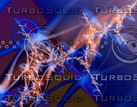 Blue molecules
