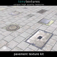 Pavement Kit 01 - Medium Res