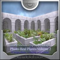 World Matters, Photo-Real Plants vol 2