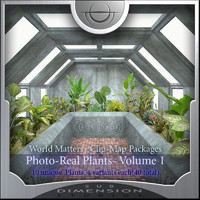 World Matters, Photo-Real Plants vol 1