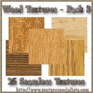 Wood Textures - Pack 3 Framed.psd