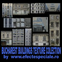 CITYSCAPE - Bucharest Building Texture Colection