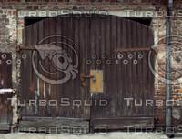 Old, woden gate