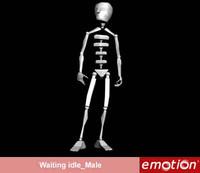 emo0002-Waiting idle_Male