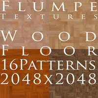 Floor - Wood - 16 Patterns